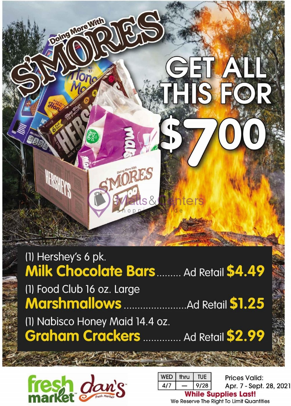 weekly ads Dan's Fresh Market - page 1 - mallscenters.com