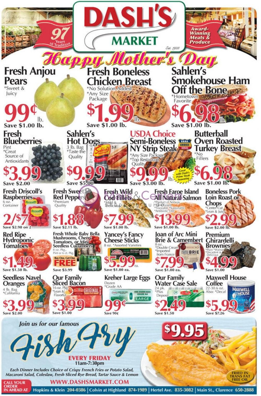 weekly ads Dash's Market - page 1 - mallscenters.com