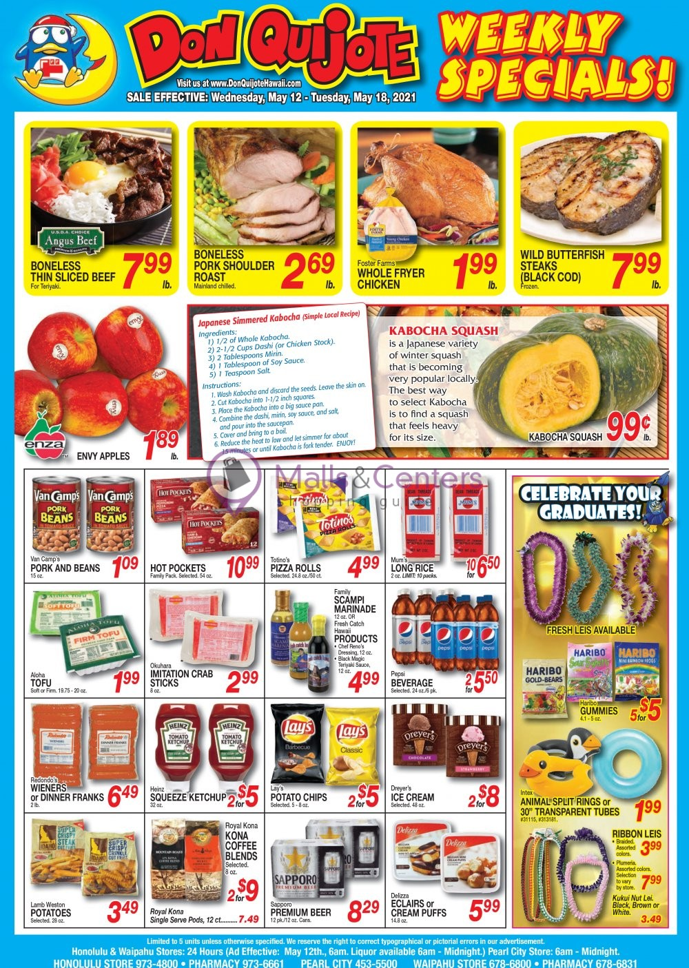 weekly ads Don Quijote Hawaii - page 1 - mallscenters.com