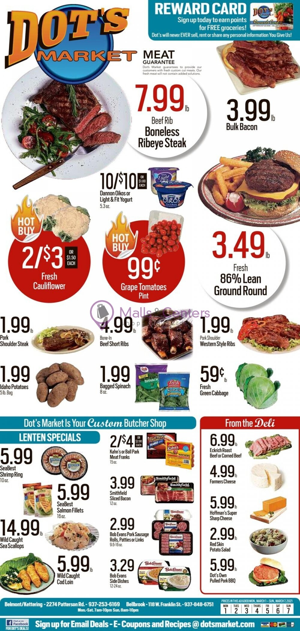 weekly ads Dot's Market - page 1 - mallscenters.com