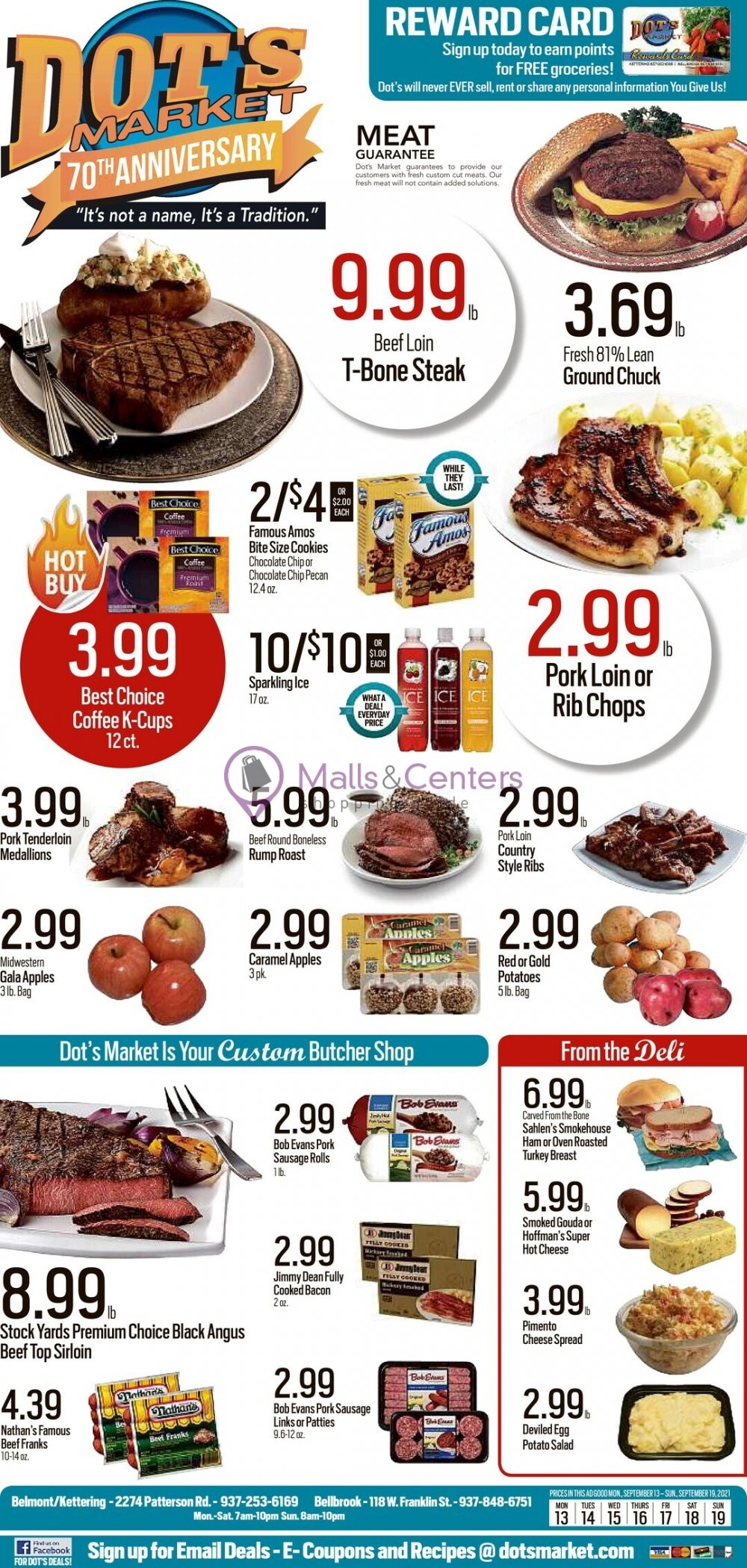 weekly ad Dot's Market - page 1 - mallscenters.com