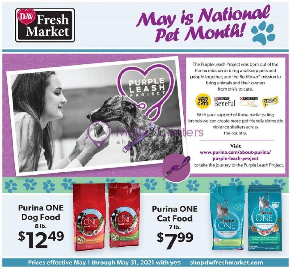 weekly ads D&W Fresh Market - page 1 - mallscenters.com