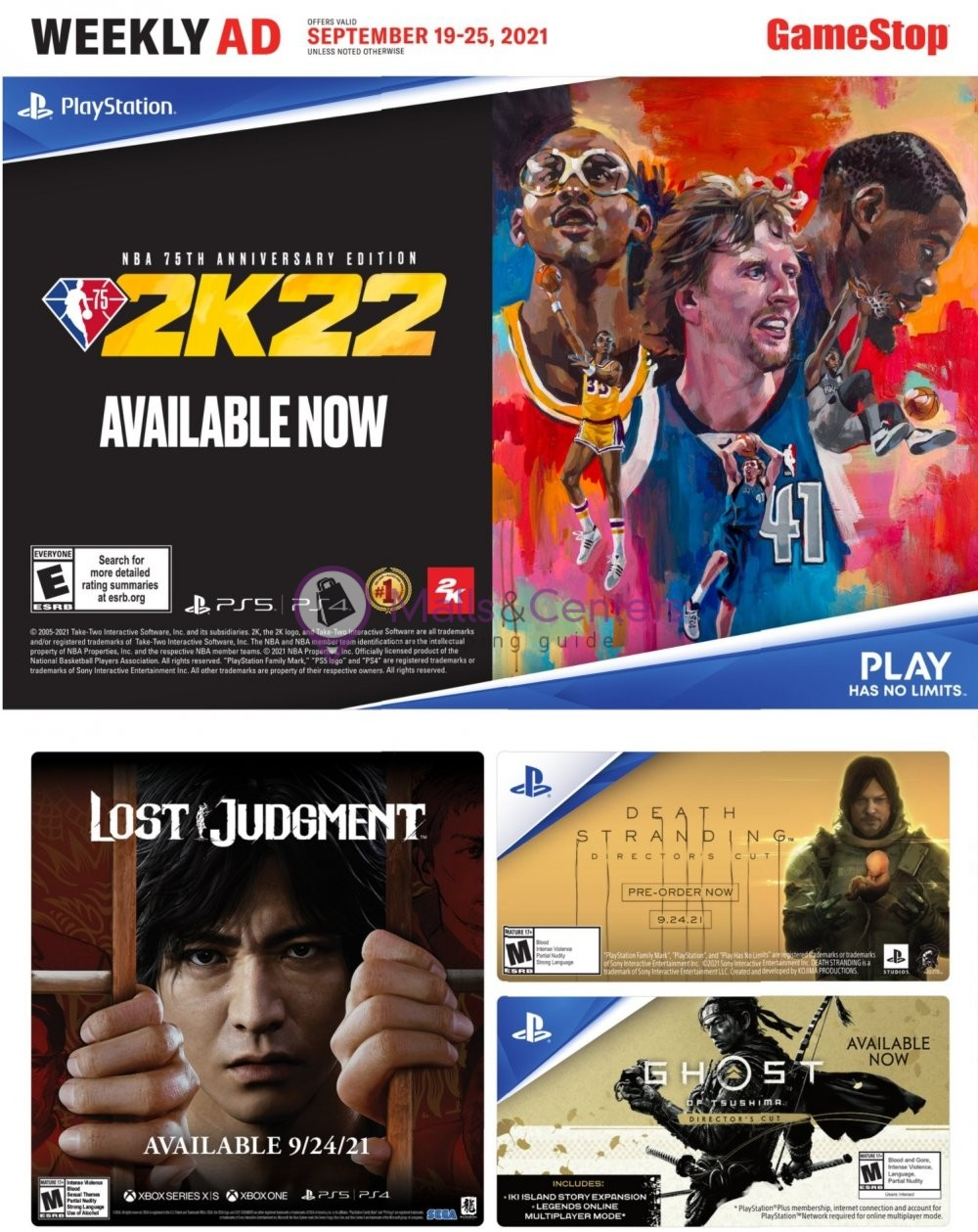 weekly ads EB Games - page 1 - mallscenters.com