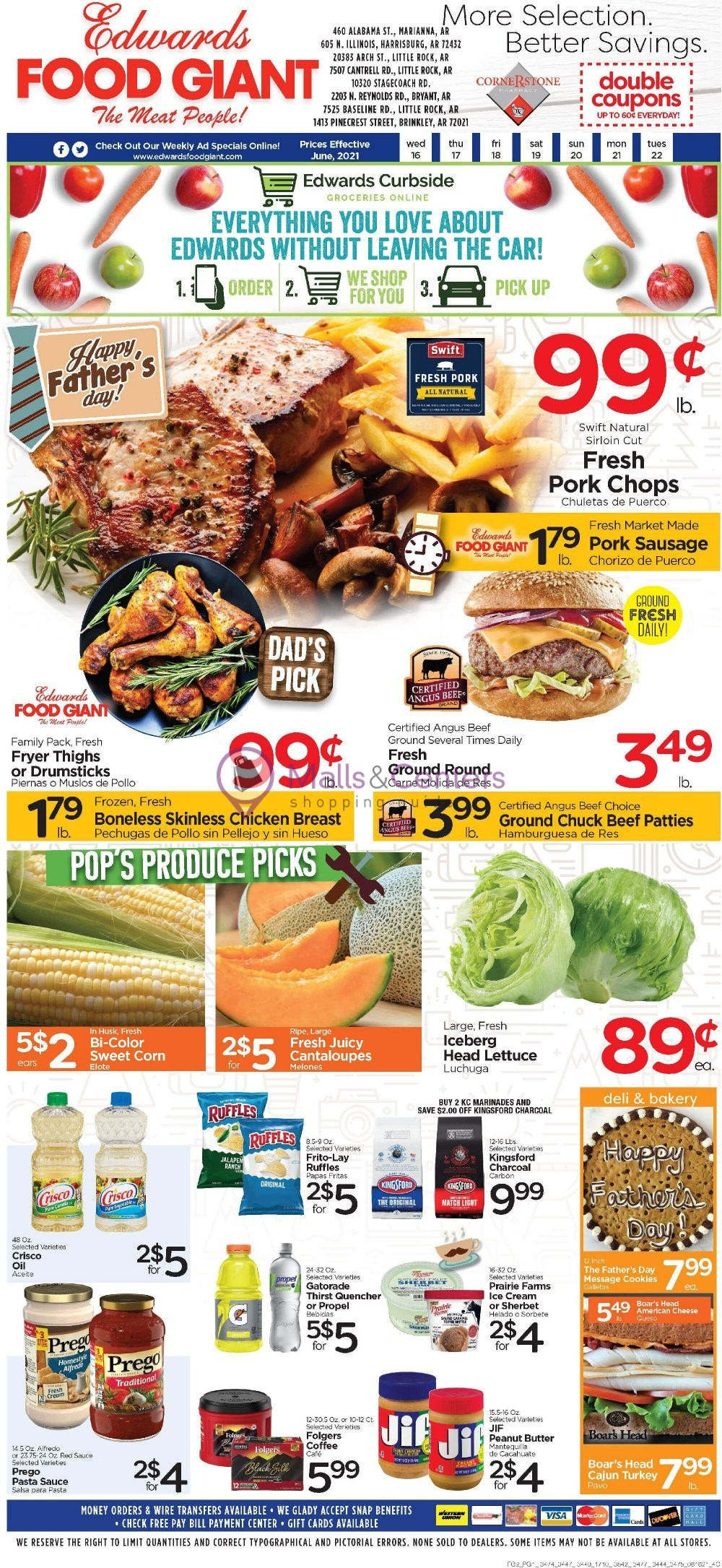weekly ads Edwards Food Giant - page 1 - mallscenters.com