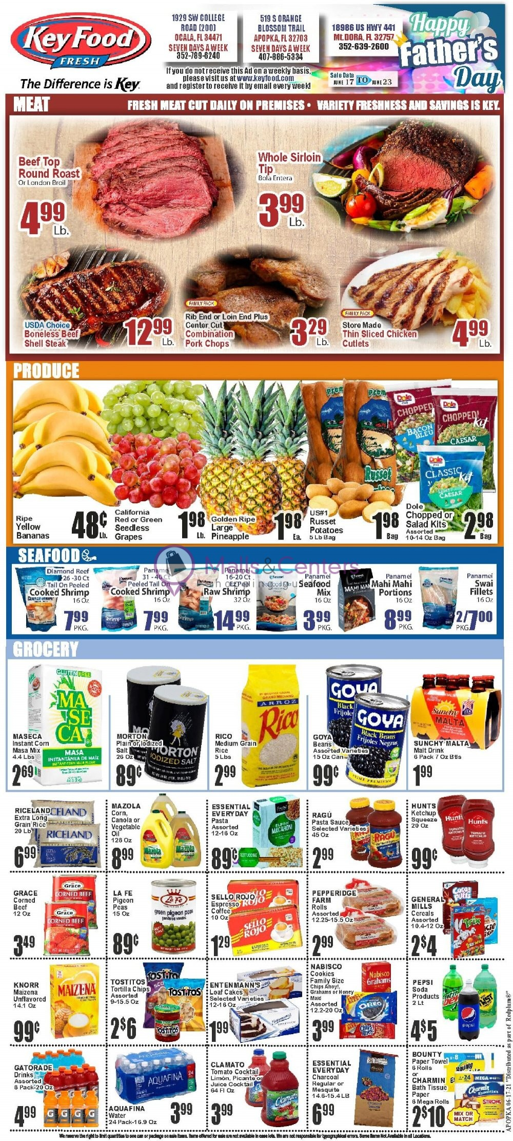 weekly ads El Rey Foods - page 1 - mallscenters.com