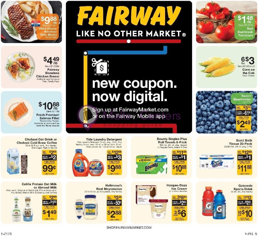 weekly ads Fairway Market - page 1 - mallscenters.com
