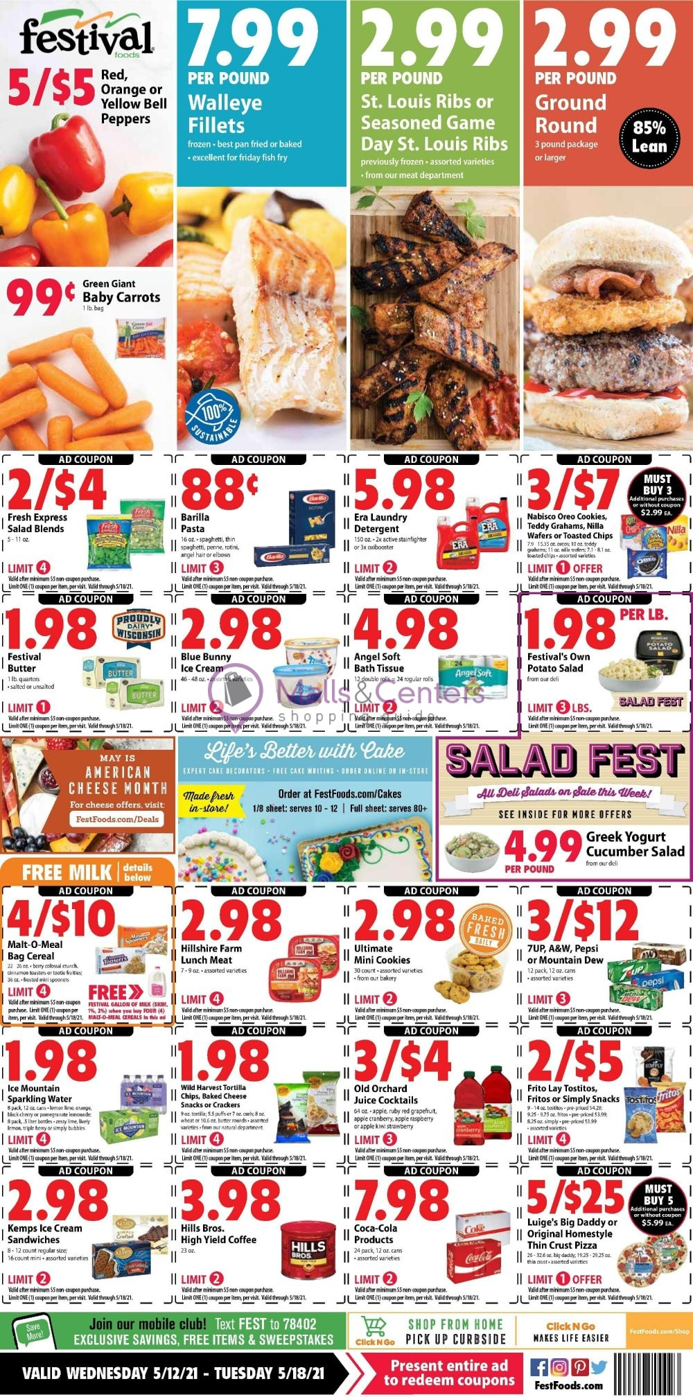 weekly ads Festival Foods - page 1 - mallscenters.com