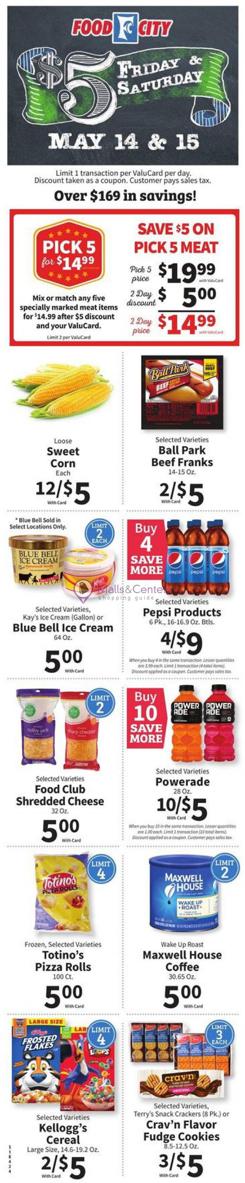 weekly ads Food City - page 1 - mallscenters.com