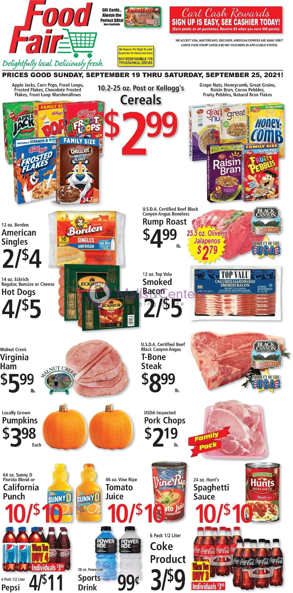 weekly ads Food Fair - page 1 - mallscenters.com