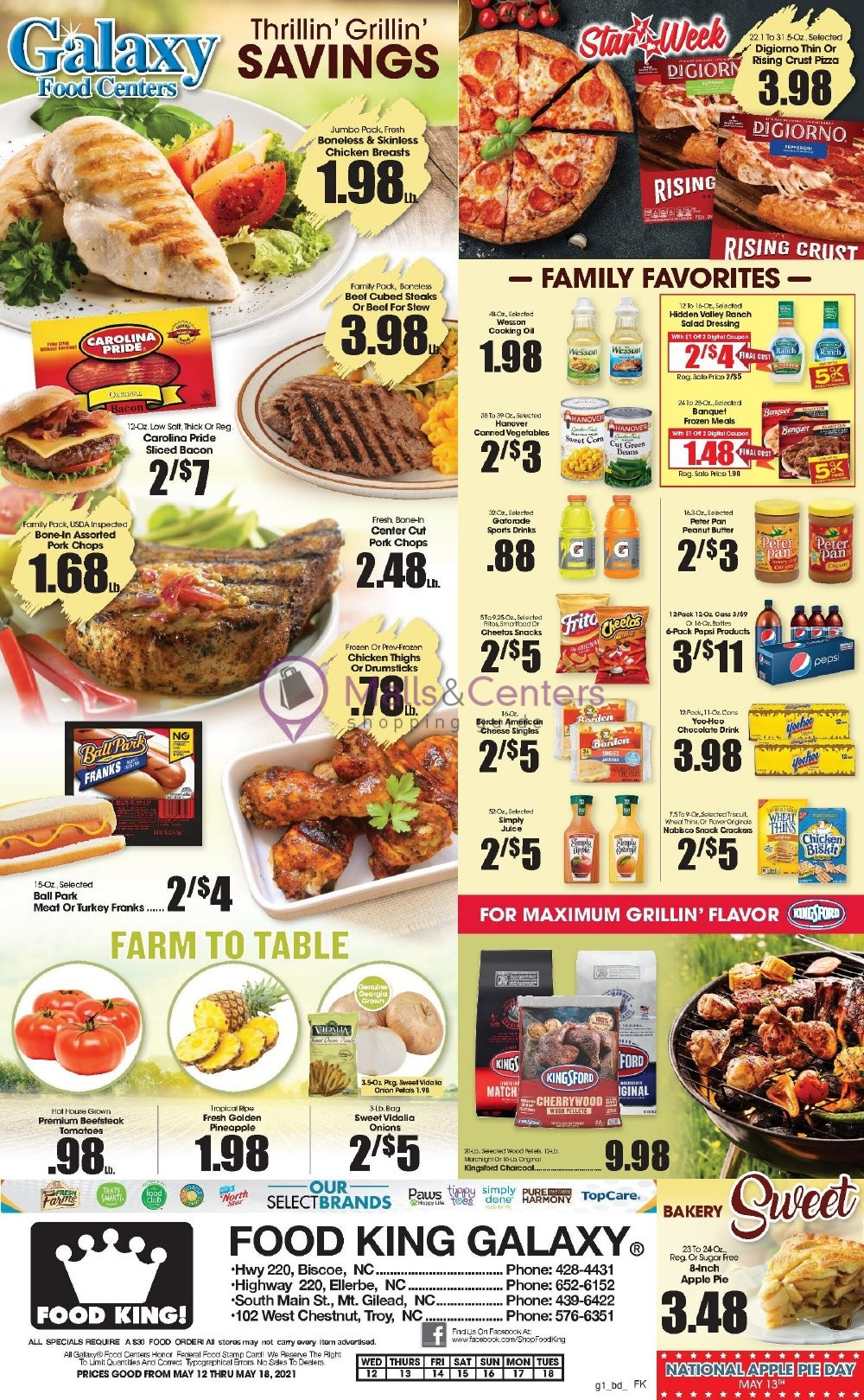 weekly ads Food King - page 1 - mallscenters.com