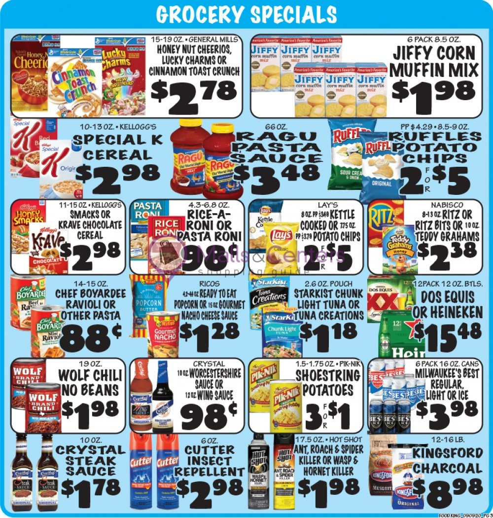 Food King Texas City Weekly ad valid from 09/09/2020 to 09 ...