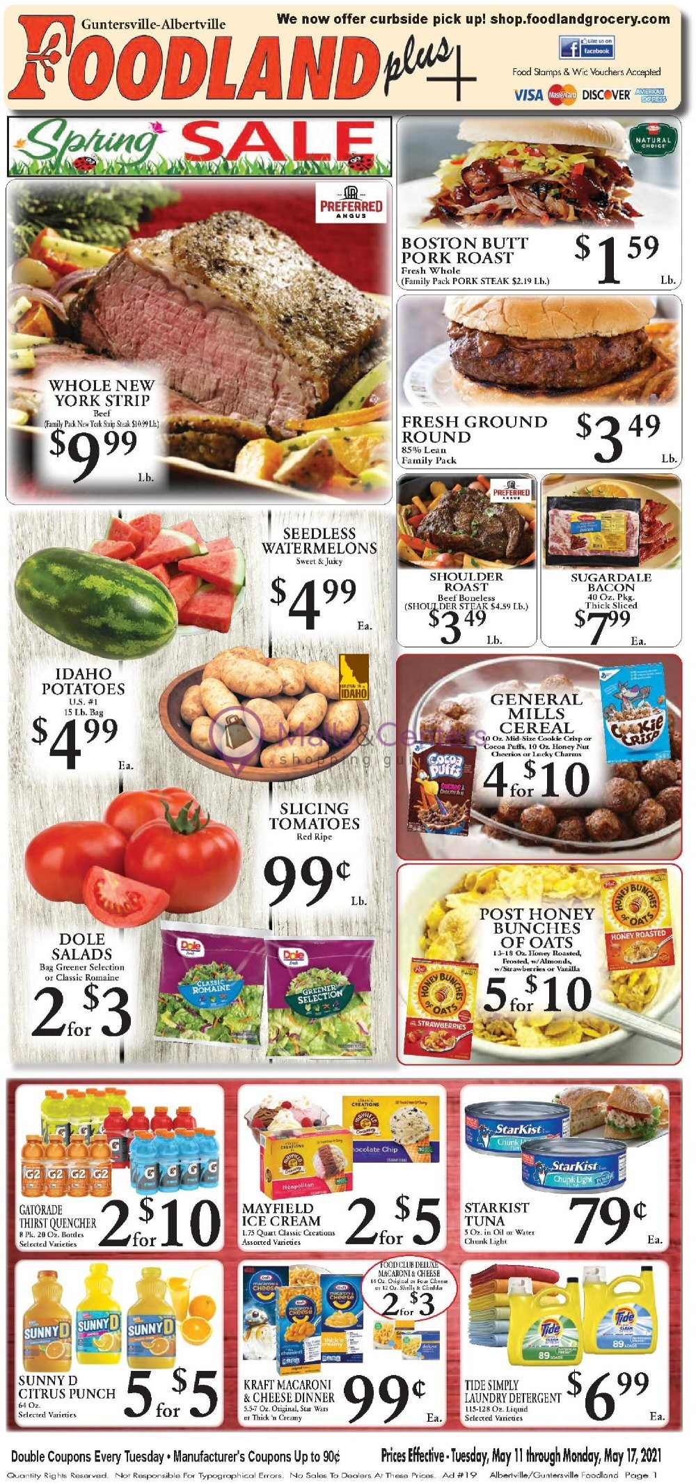 weekly ads Foodland Grocery - page 1 - mallscenters.com