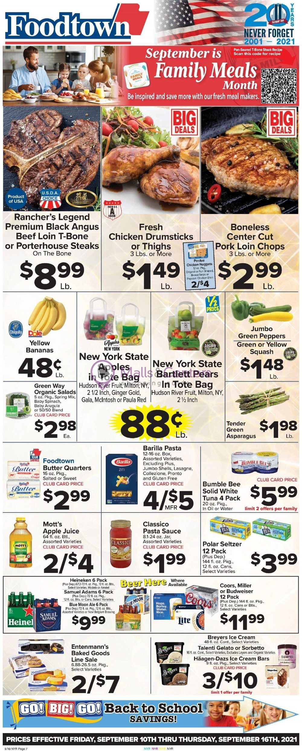 weekly ads Foodtown Grocery - page 1 - mallscenters.com