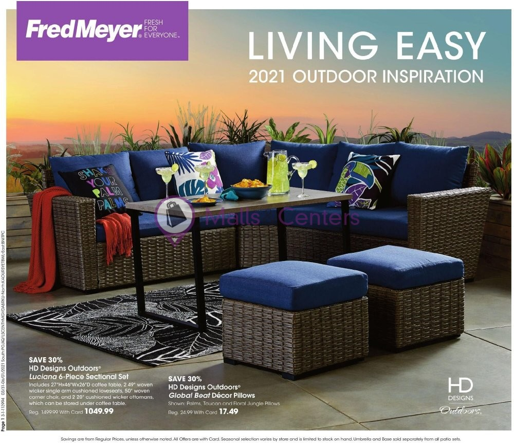 weekly ads Fred Meyer - page 1 - mallscenters.com
