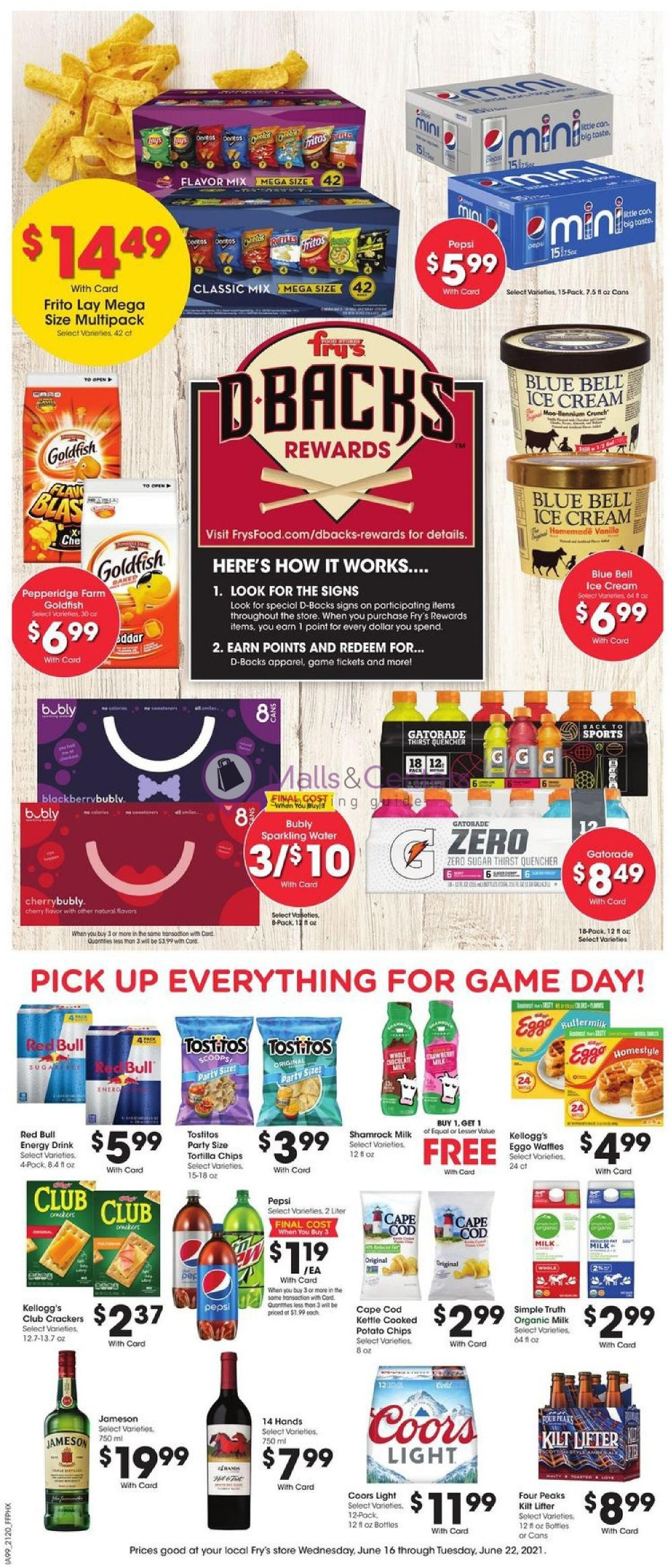 weekly ads Fry's Food Stores - page 1 - mallscenters.com