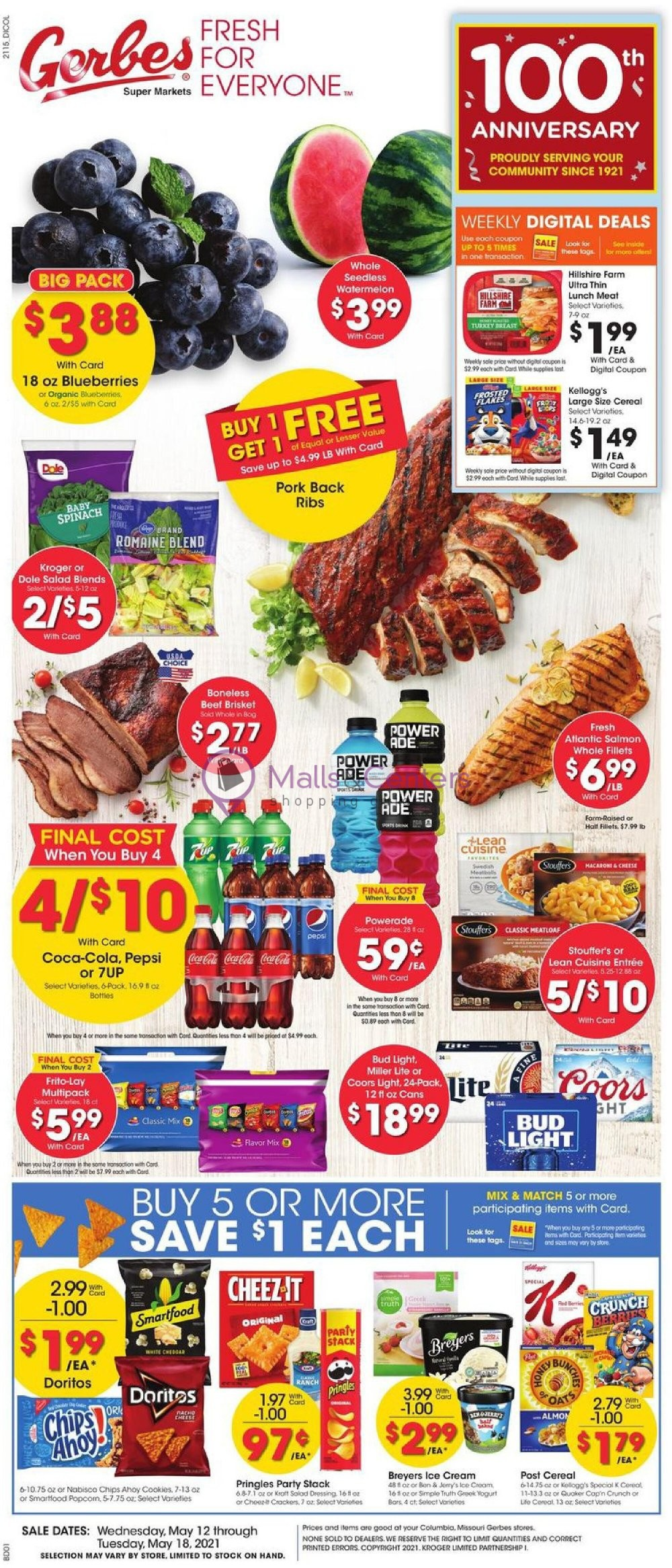 weekly ads Gerbes Super Markets - page 1 - mallscenters.com