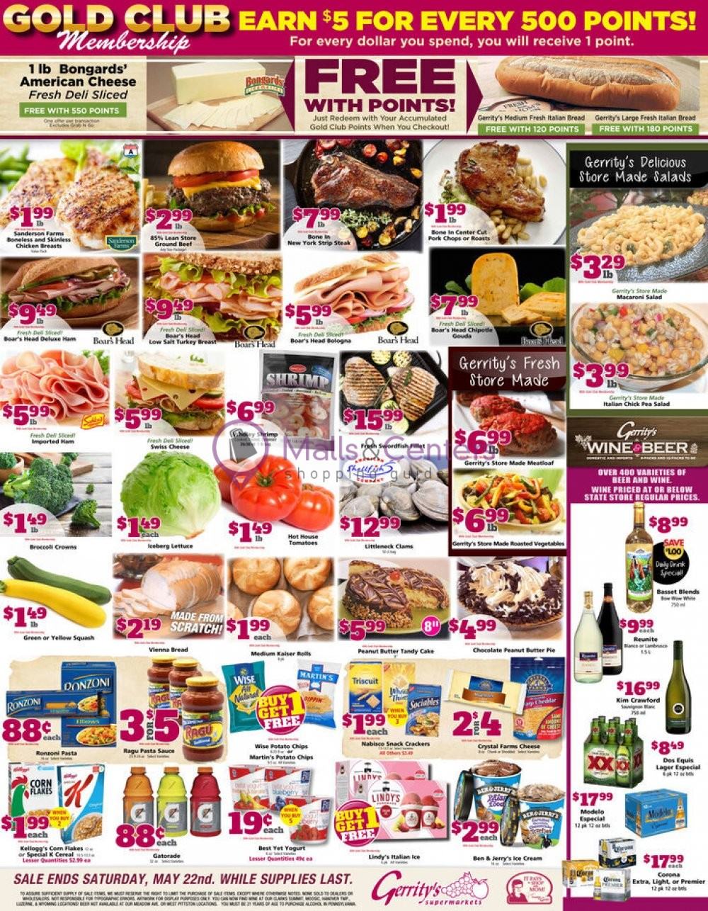 weekly ads Gerrity's Supermarkets - page 1 - mallscenters.com