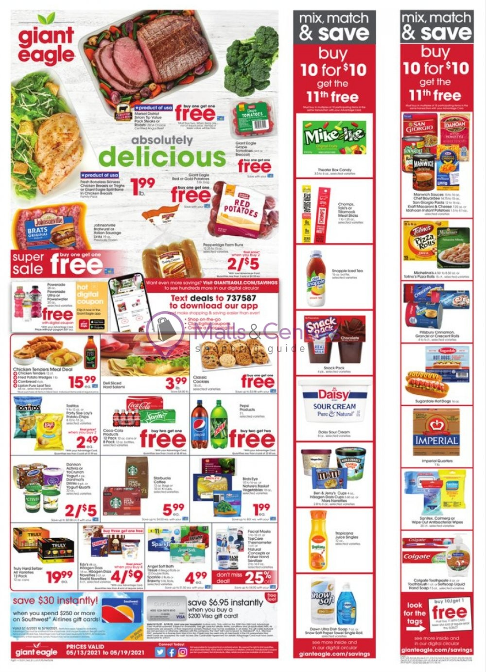 weekly ads Giant Eagle - page 1 - mallscenters.com