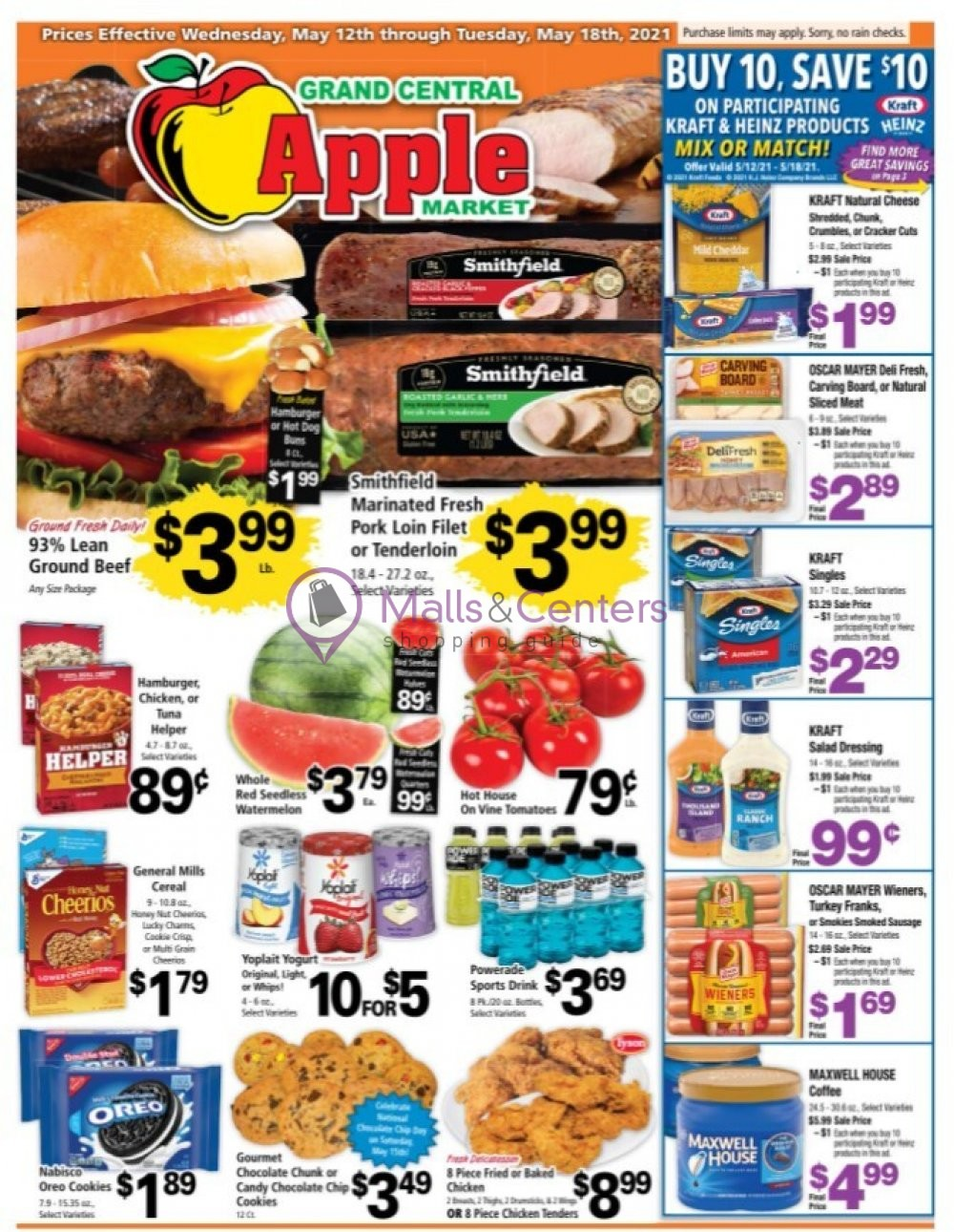 weekly ads Grand Central Apple Market - page 1 - mallscenters.com