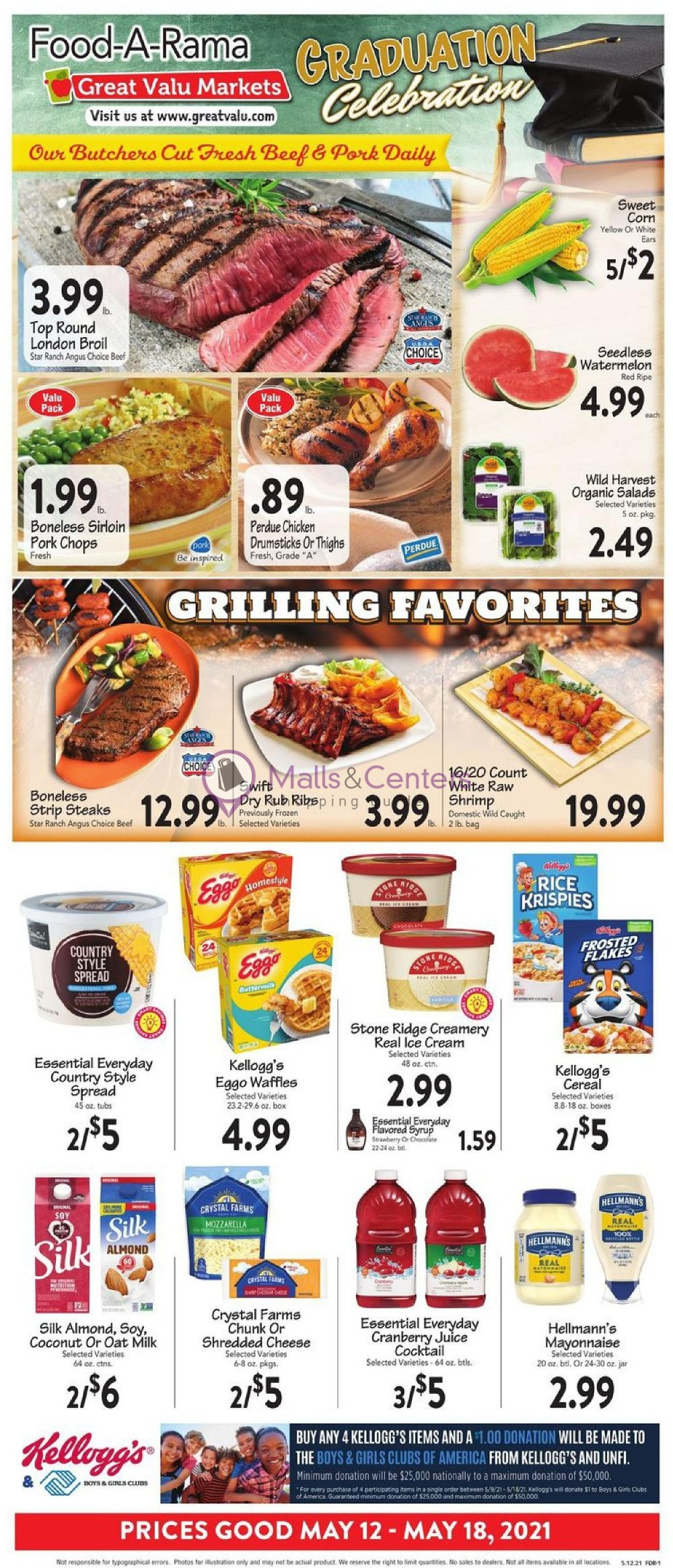 weekly ads Great Valu Markets - page 1 - mallscenters.com