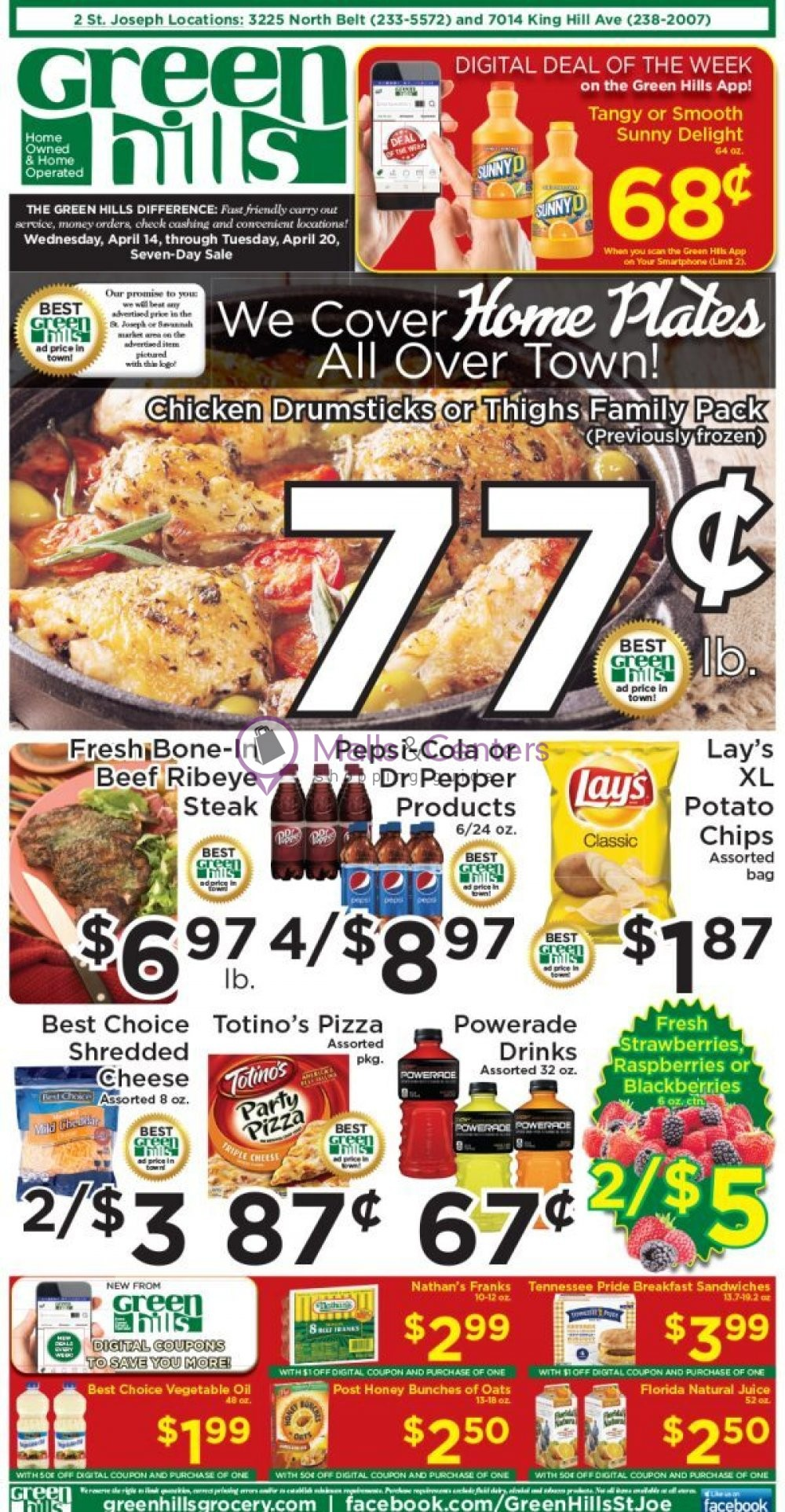 weekly ads Green Hills Grocery - page 1 - mallscenters.com