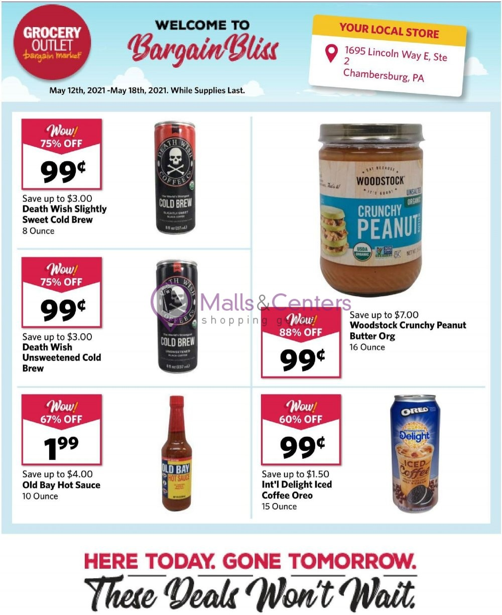 weekly ads Grocery Outlet - page 1 - mallscenters.com