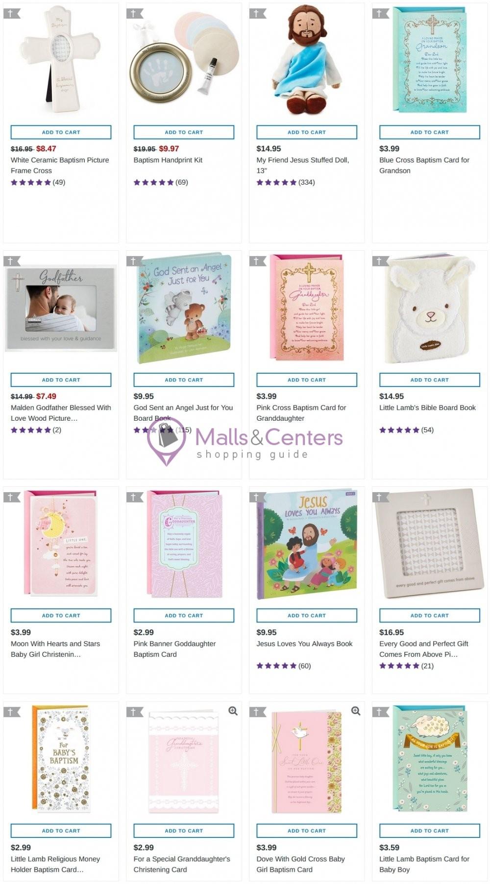weekly ads Hallmark - page 1 - mallscenters.com