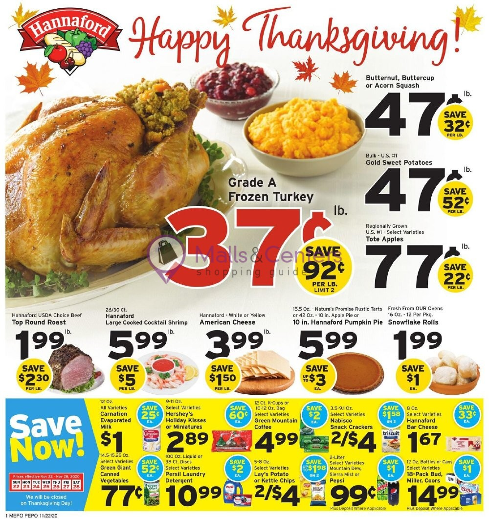 weekly ads Hannaford Supermarket & Pharmacy - page 1 - mallscenters.com