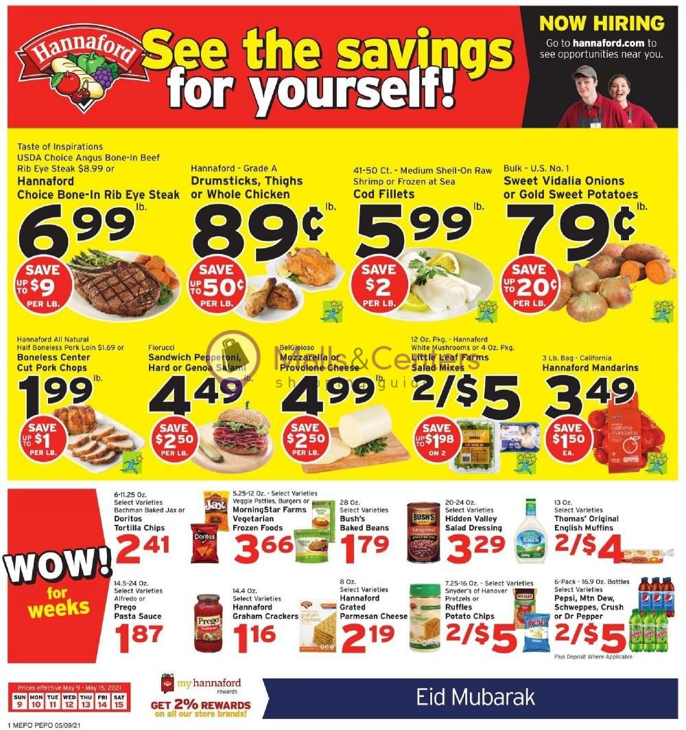 weekly ads Hannaford Supermarket & Pharmacy - page 1 - mallscenters.com