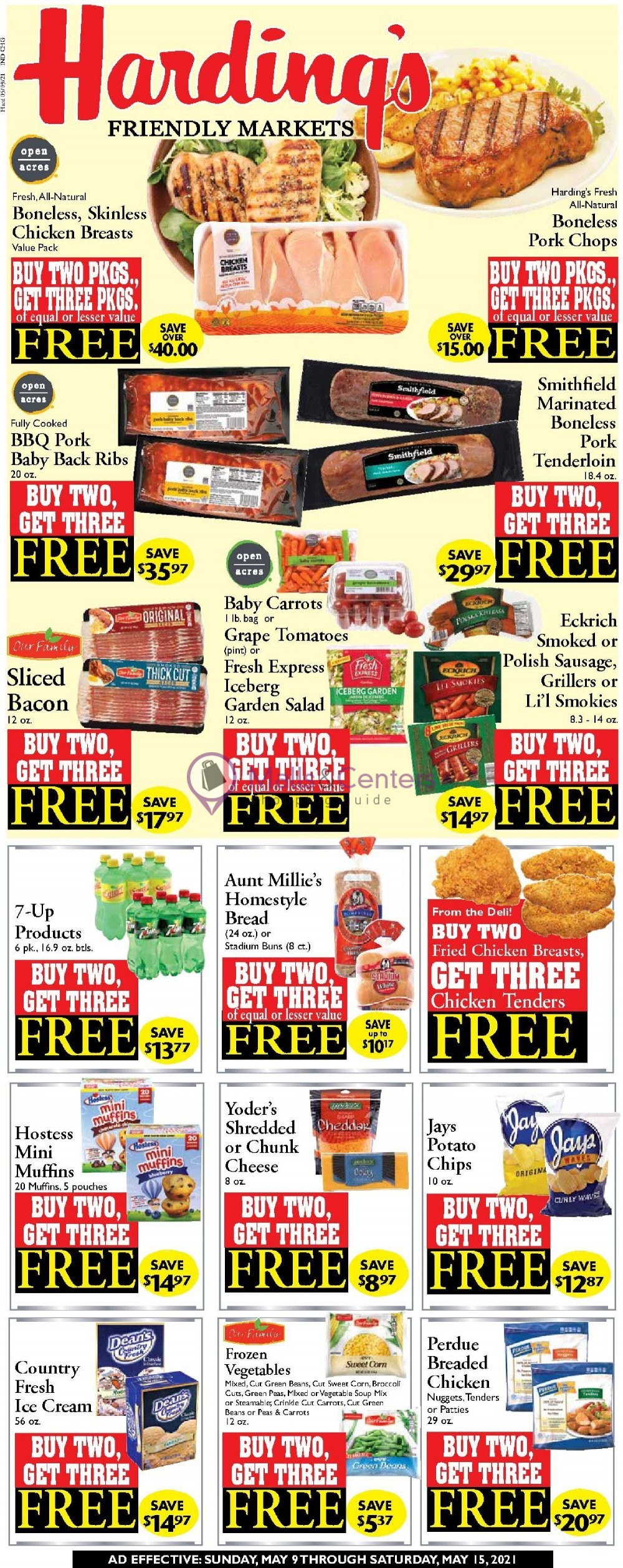 weekly ads Harding's - page 1 - mallscenters.com