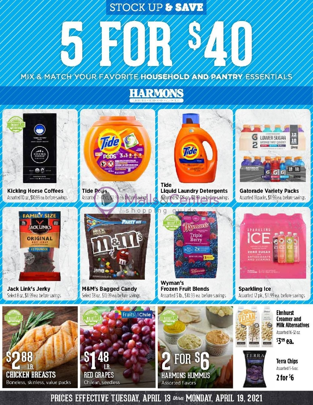 weekly ads Harmons - page 1 - mallscenters.com