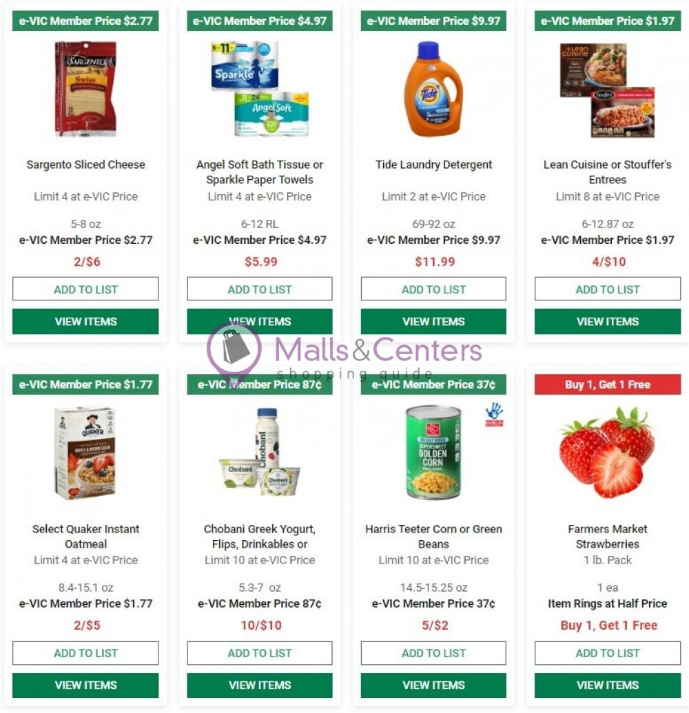 weekly ads Harris Teeter - page 1 - mallscenters.com