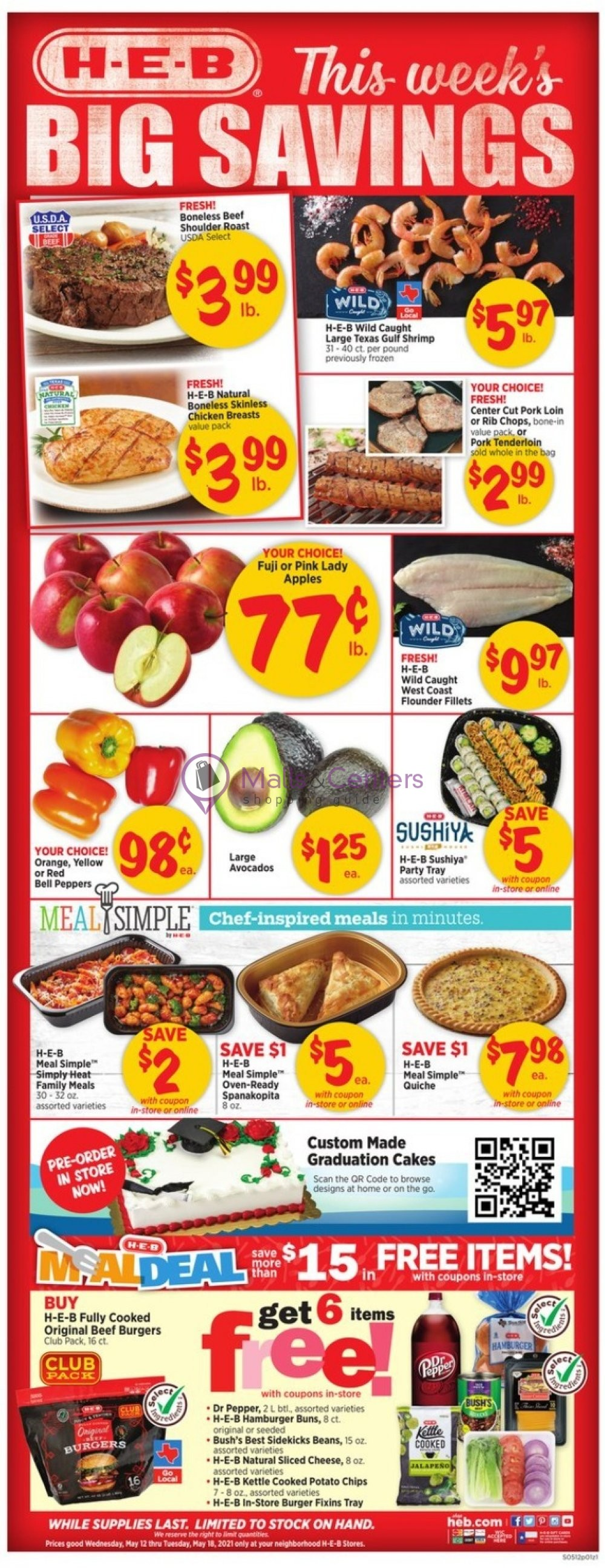 weekly ads HEB - page 1 - mallscenters.com