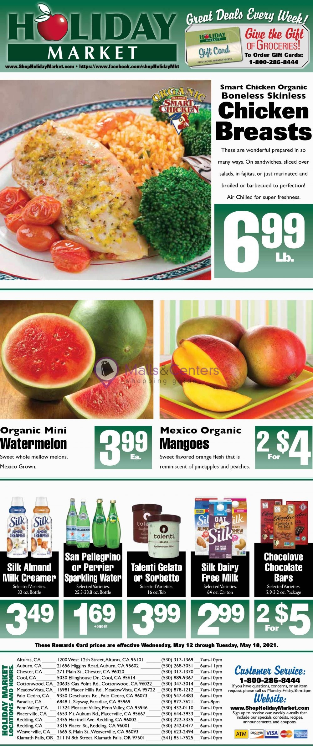 weekly ads Holiday Market - page 1 - mallscenters.com