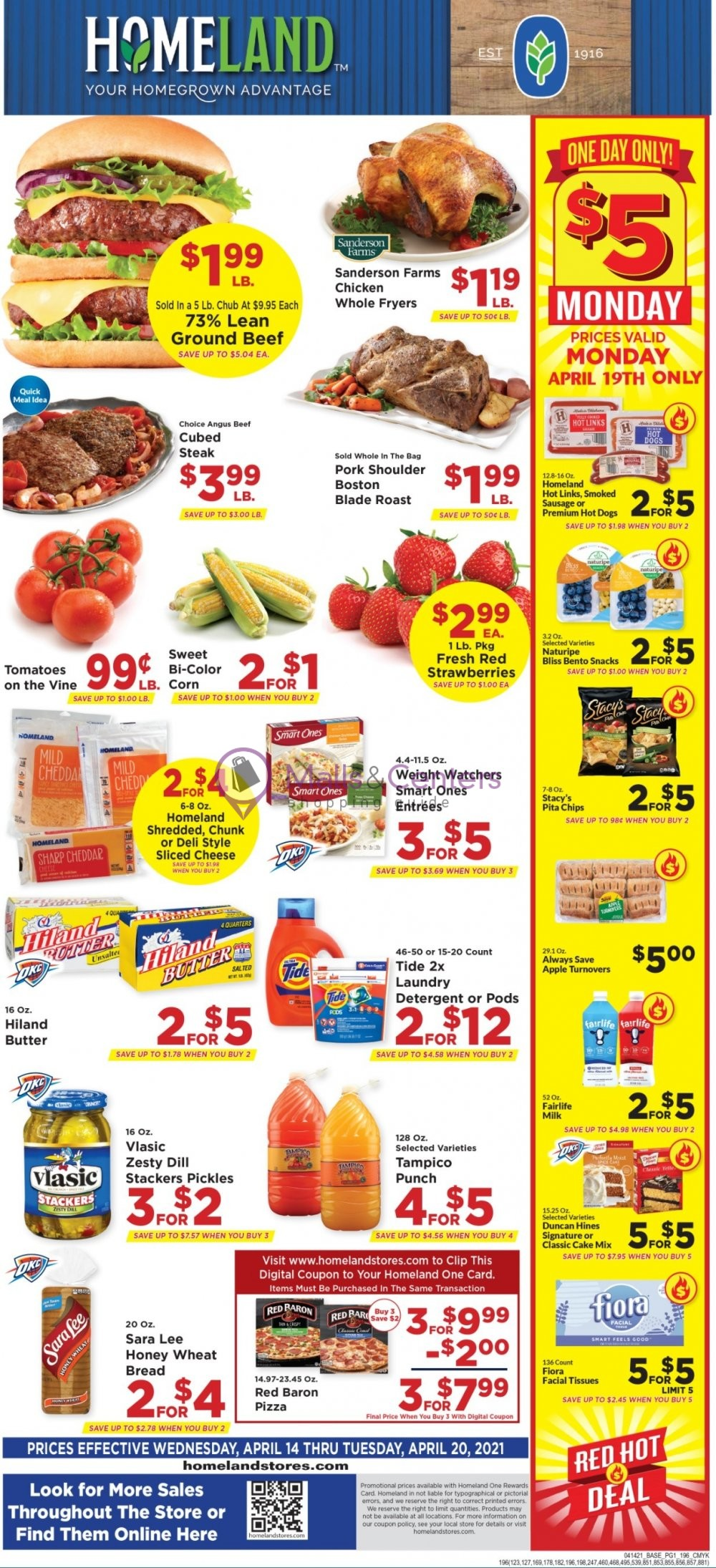 weekly ads Homeland - page 1 - mallscenters.com