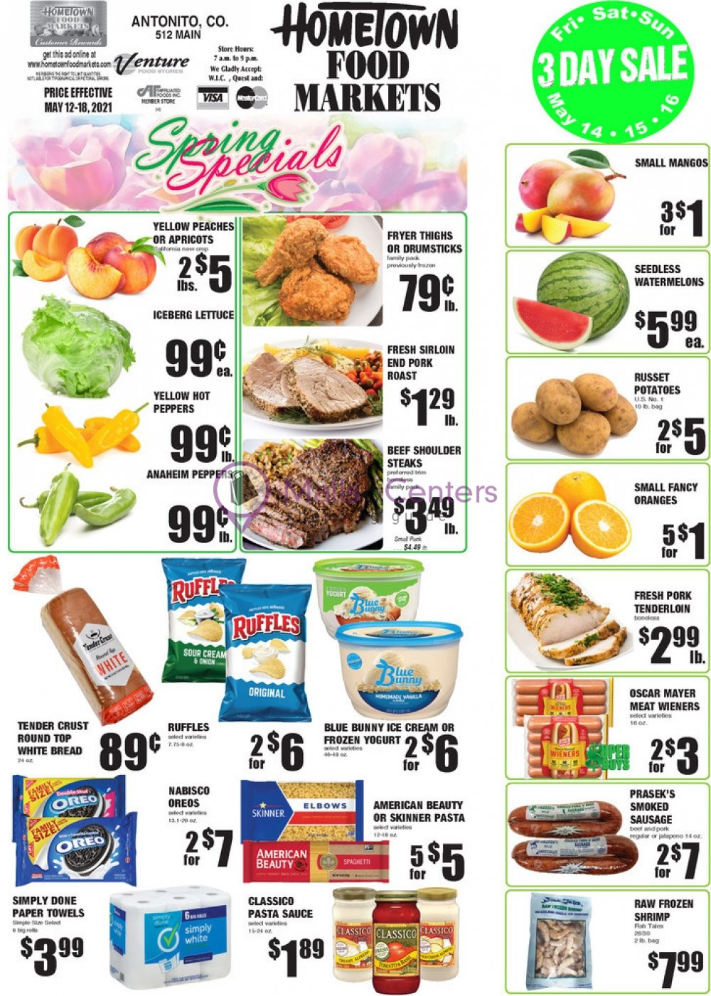 weekly ads HomeTown Food Markets - page 1 - mallscenters.com