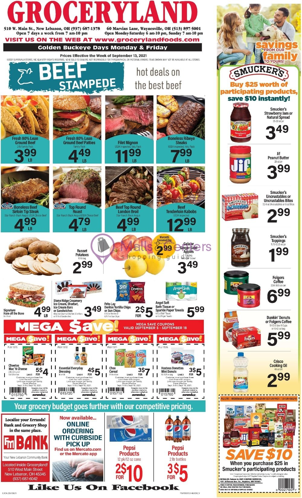 weekly ads Hometown Marketplace - page 1 - mallscenters.com
