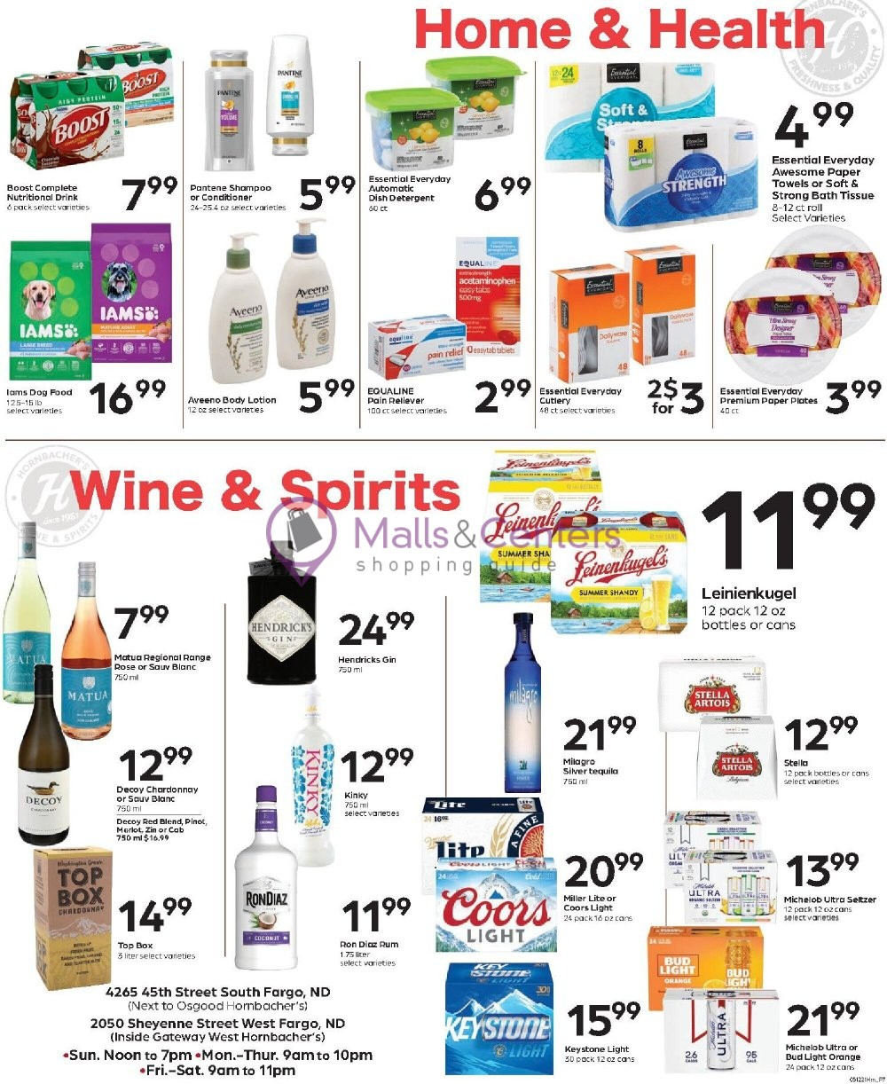 weekly ads Hornbacher's - page 1 - mallscenters.com