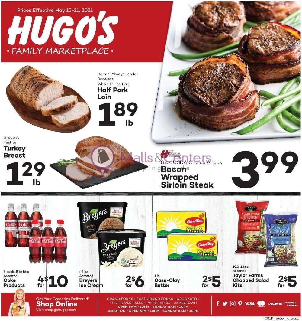 weekly ads Hugo's - page 1 - mallscenters.com
