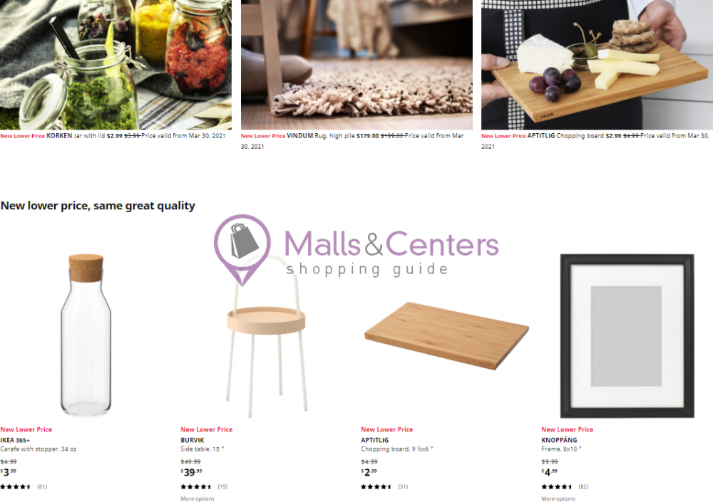 weekly ads IKEA - page 1 - mallscenters.com