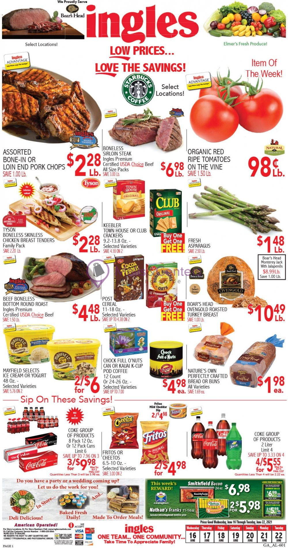 weekly ads Ingles Markets - page 1 - mallscenters.com