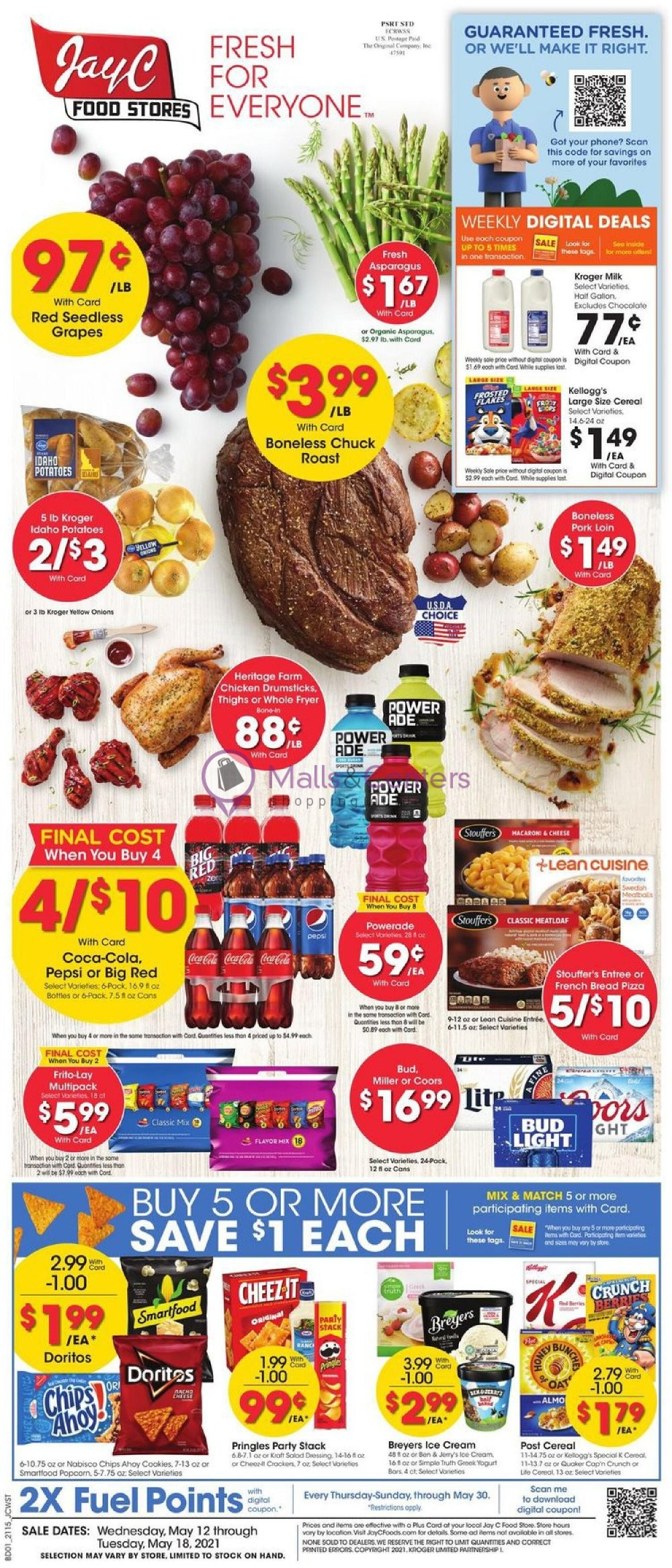 weekly ads Jay C Foods - page 1 - mallscenters.com