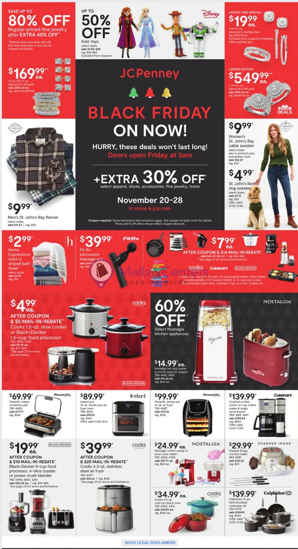 weekly ads JCPenney - page 1 - mallscenters.com