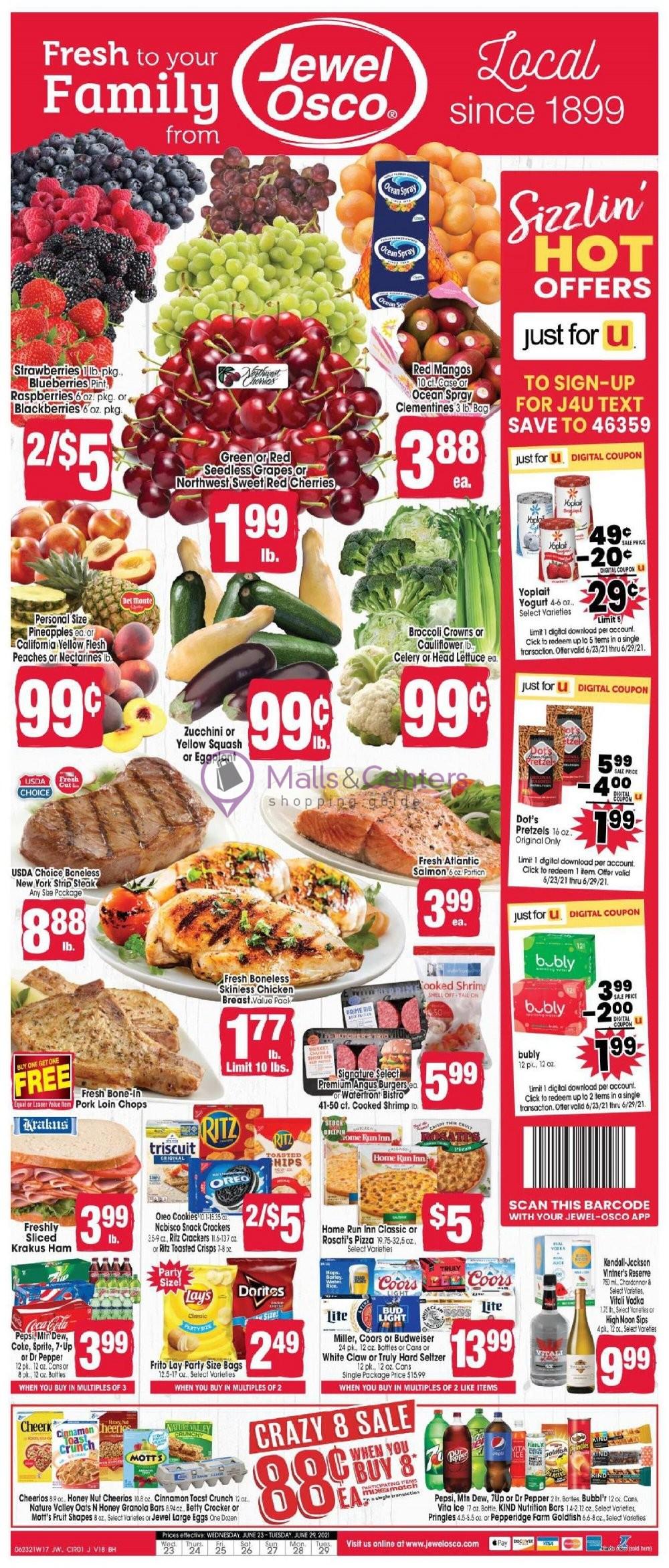 weekly ads Jewel-Osco - page 1 - mallscenters.com