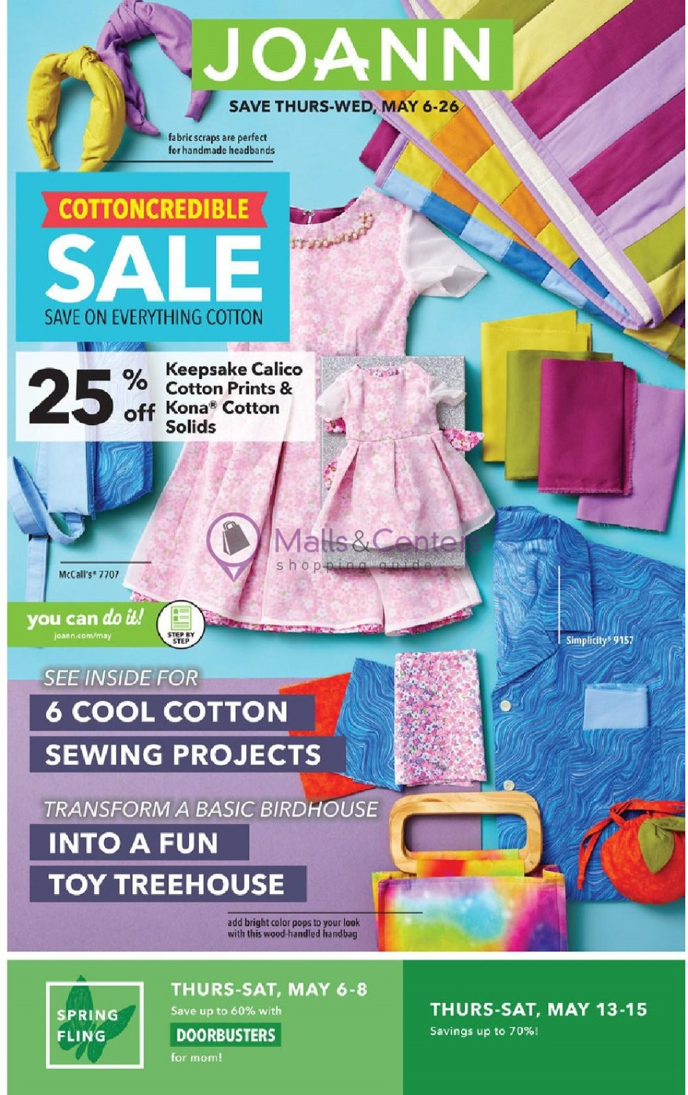 weekly ads Jo Ann Fabrics and Crafts - page 1 - mallscenters.com