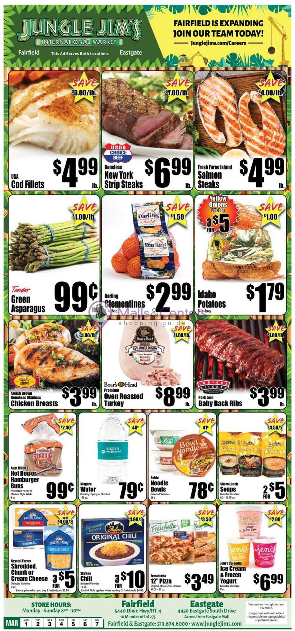 weekly ads Jungle Jim's - page 1 - mallscenters.com