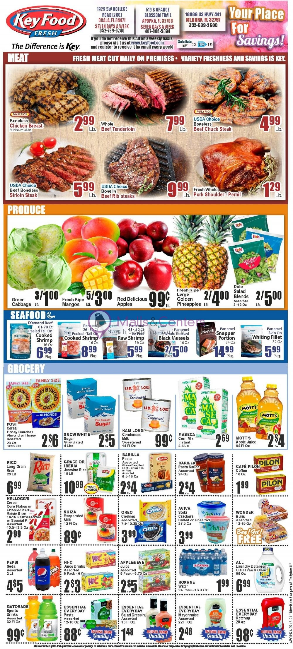 weekly ads Key Food - page 1 - mallscenters.com
