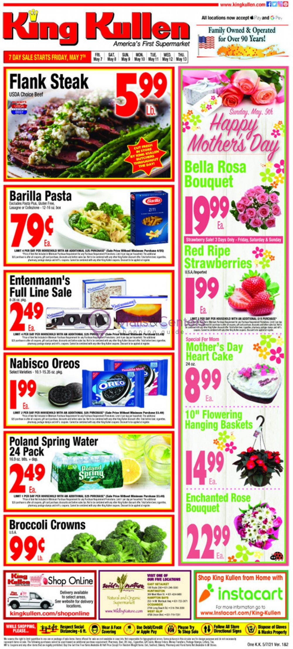 weekly ads King Kullen - page 1 - mallscenters.com