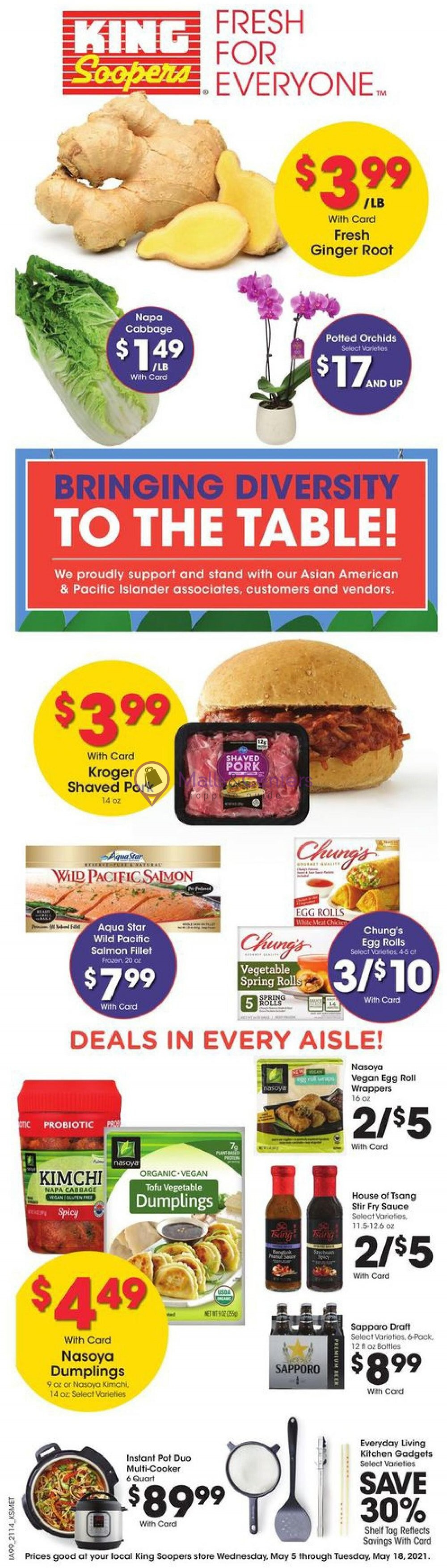 weekly ads King Soopers - page 1 - mallscenters.com