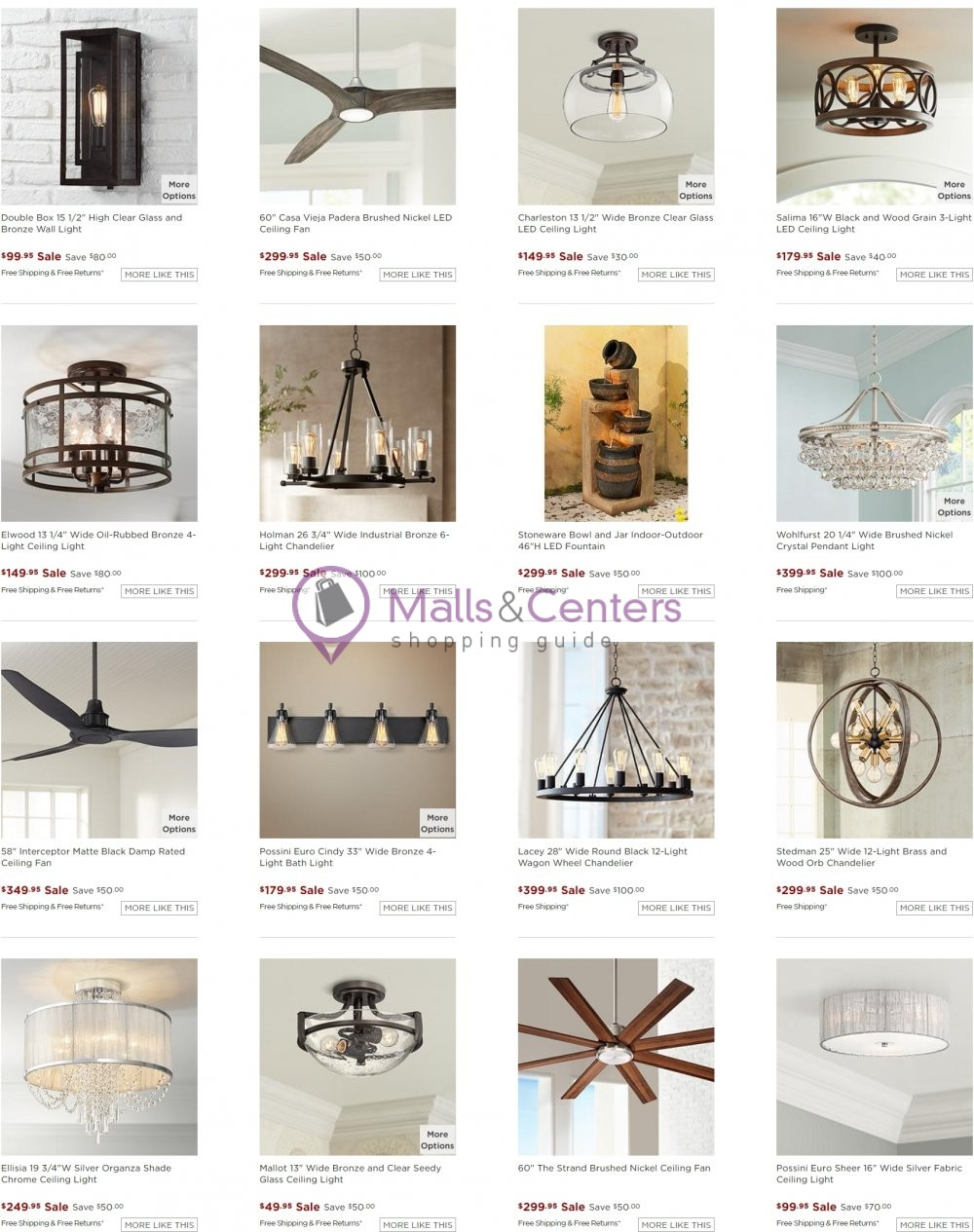 weekly ads Lamps Plus - page 1 - mallscenters.com
